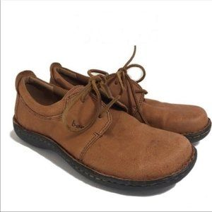 B.O.C Born Concepts Brown Leather Lace-up Sneaker